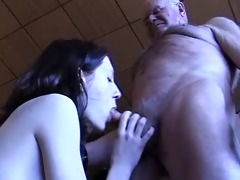 grand-dad receives a oral sex
