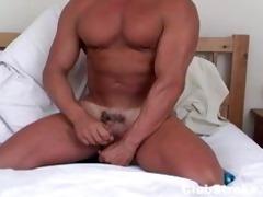 pumped up str chap rock masturbating