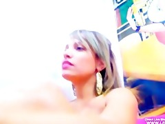 breasty legal age teenager latin chick jas pees