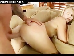 youthful angel monsterfucked in her throat and