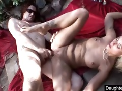 youthful daughter monster anal screwed