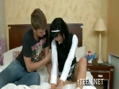 legal age teenager acquires drilled
