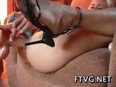 busty beauty masturbating