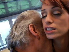 fortunate oldman bonks with super hot babe erica