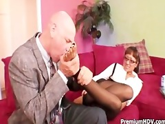 round boobs sweetheart bonks with boss