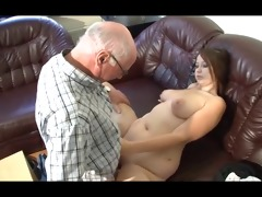 german grandad makes youthful beauty lascivious