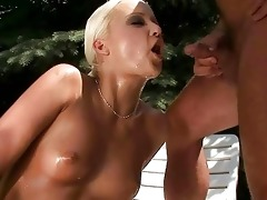 older man and hawt angel pissing and fucking
