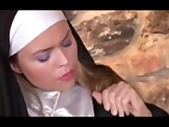 old father youthful nun hard anal