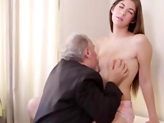 hawt czech student fucked by her tricky old