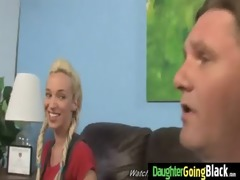 youthful daughter acquires pounded by large