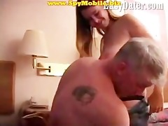 non-professional daughter tempted and screwed by