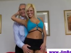 british hottie fingering for old fellow