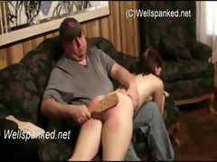 dad and daughter fuck on the ottoman