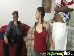 youthful daughter with precious a-hole fucked by