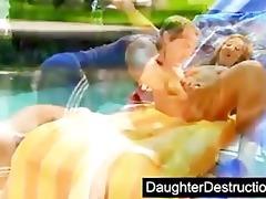 cute daughter screwed by bawdy dude